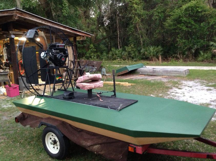jajik: Electric airboat plans