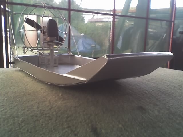 Mini Hull for PPG back pack motor
