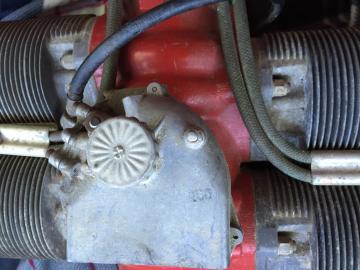MCCULLOCH 4318A 72 HP 4 cylinder 2 stroke engine